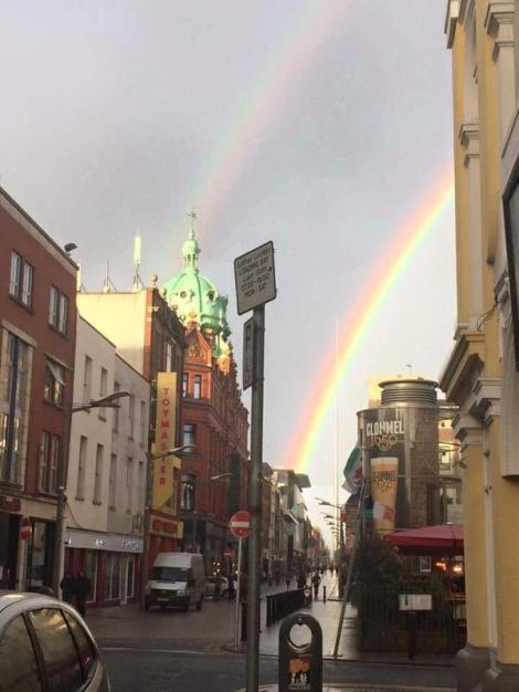 Una tarde alegre en irlanda