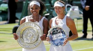 Williams y Muguruza (Foto: Reuters vía Marca)