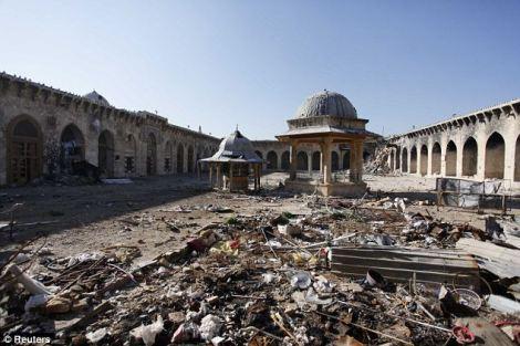 Siria despues del conflicto. Foto: Reuters, via DailyMail