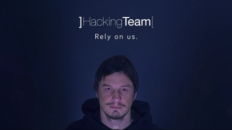 Foto: Google images, captura del comercial de hacking team