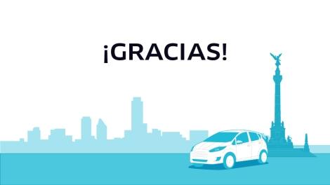 Comunicado donde Uber agradece. Foto: Uber